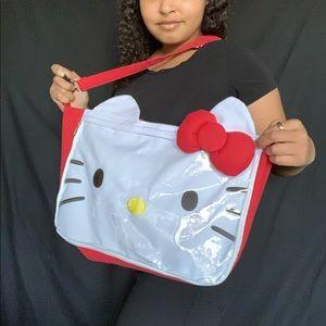 hello kitty crossbody laptop book bag
